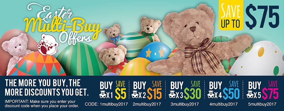 Easter Multi-buy promotions