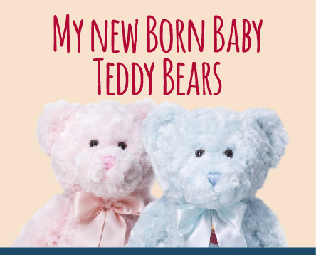 My New Born Baby Teddy Bears