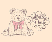 Happy Valentine's Day from  My Birthday Teddy ! It's time to say how much you love them.