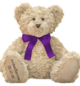 New Ribbon Colors Bears Web (Purple)